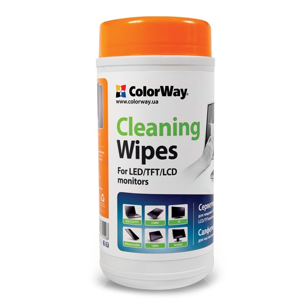 Buy ColorWay wipes for Laptops & Monitors 100 pcs.