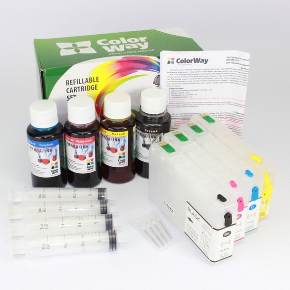 Buy Refill cartr. ColorWay for Epson WP4015/4025 without ink