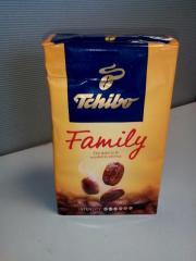 Coffee Tchibo Family 250g, EAN 599...exp. 2018