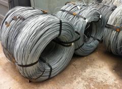 Druty stalowe zynkowe